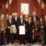 Adolfo Suárez. Premio Drago de Oro 2005. Recoge el Premio Antonio Morillo Crespo.