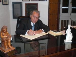 El diputato don Diego López Garrido ingresa en el Ateneo de Cádiz