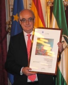 Javier Anso. Premio Drago de Oro 2010