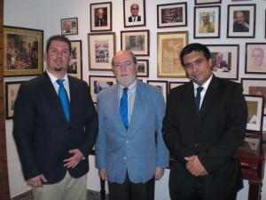 Javier Ramírez Muñoz, Ignacio Moreno Aparicio y Francisco Glicerio Conde Mora