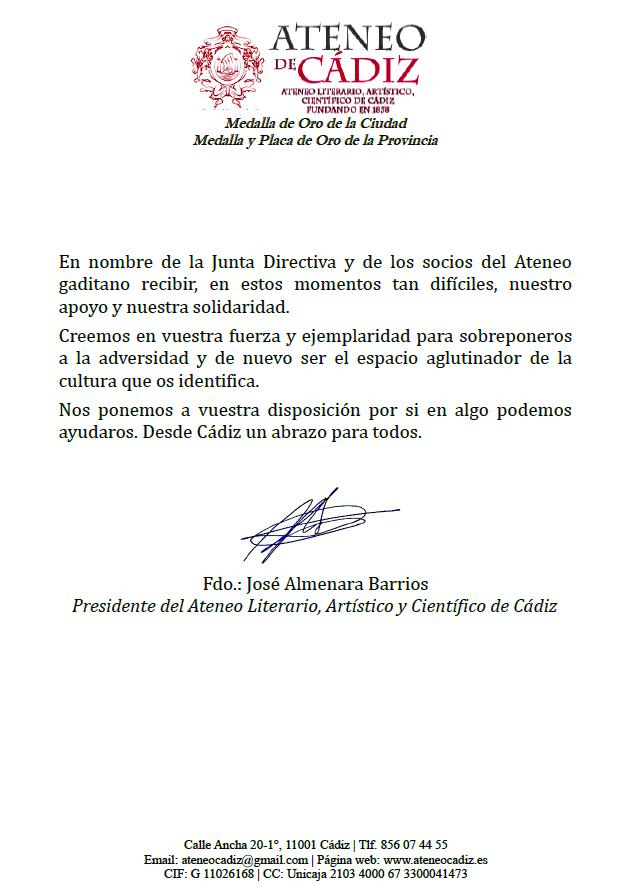 Solidaridad Ateneo La Laguna