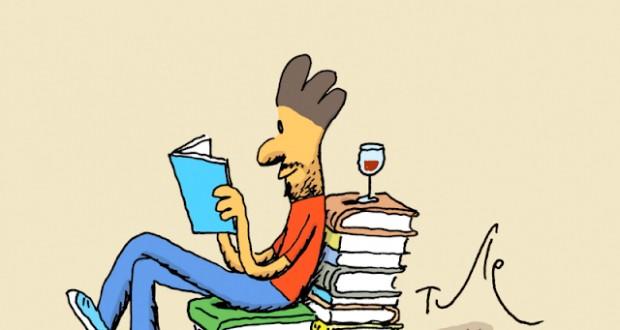 Yo me quedo en casa leyendo
